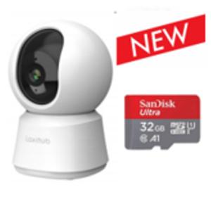 Crowd Security Indoor Wifi 1080P Pan Tilt Zoom Privacy Camera